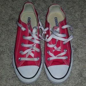 Coral Converse Shoes